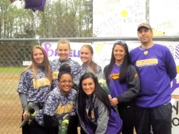 AHS seniors with Coach Cetnar